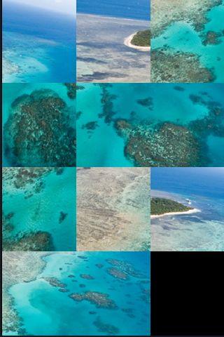 SlidePuzzle - Great Barrier Reef screenshot #1