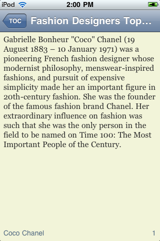 The Top Fashion Designers of All Time screenshot #2