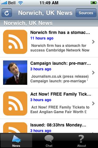 Norwich, UK News screenshot #1