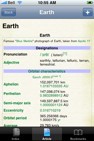 The Earth Study Guide screenshot #1