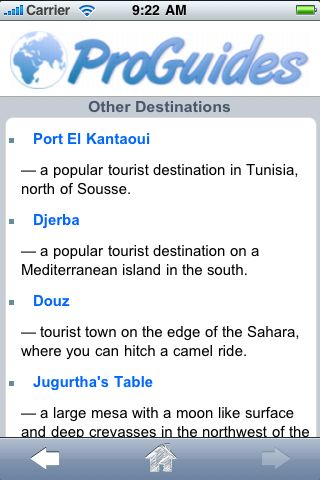 ProGuides - Tunisia screenshot #3