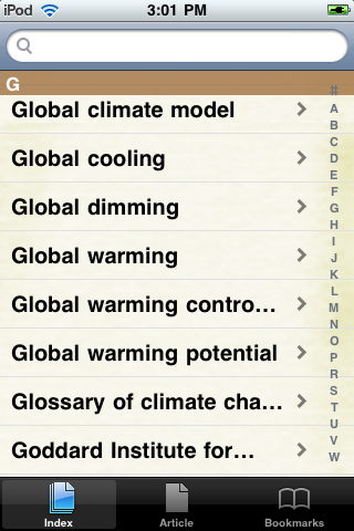 Global Warming Study Guide screenshot #2