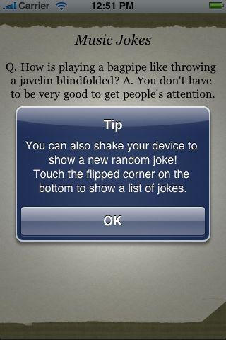 Music Jokes screenshot #2