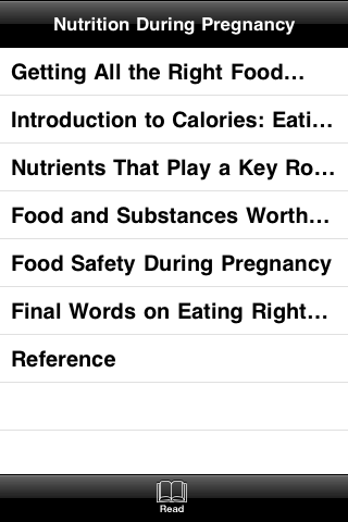Food and Nutrition During The Pregnancy screenshot #4