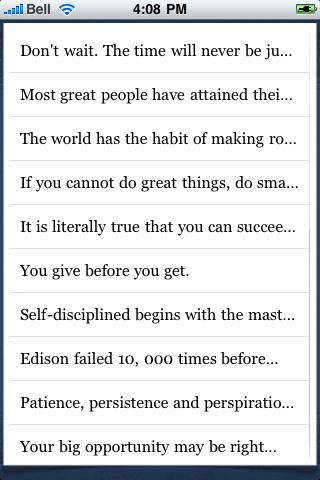 Napoleon Hill Quotes screenshot #3