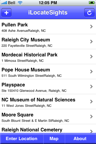 Raleigh, North Carolina Sights screenshot #2