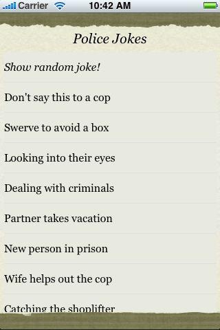 Police Jokes screenshot #3