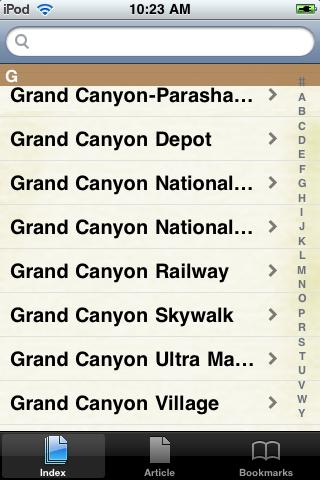 The Grand Canyon Study Guide screenshot #2