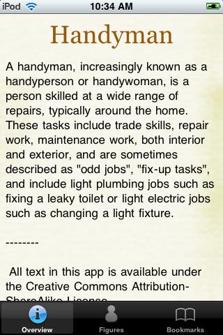 Handyman Pocket Book screenshot #1