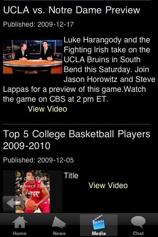 Washington AMRCN U College Basketball Fans screenshot #5