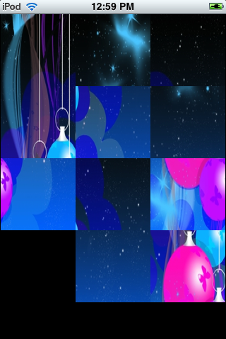 Slide Puzzle - Christmas Bells screenshot #2