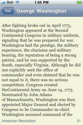 George Washington screenshot #2