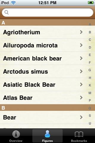 Bear Species Pocket Book screenshot #2