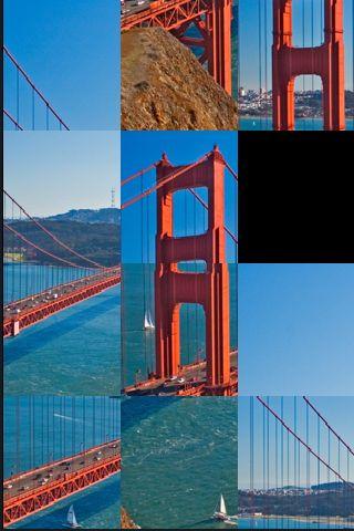 slidePuzzle - Golden Gate Bridge screenshot #1