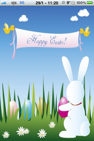 Happy Easter Slide Puzzle screenshot #1