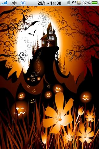 Spooky Halloween Slide Puzzle screenshot #1