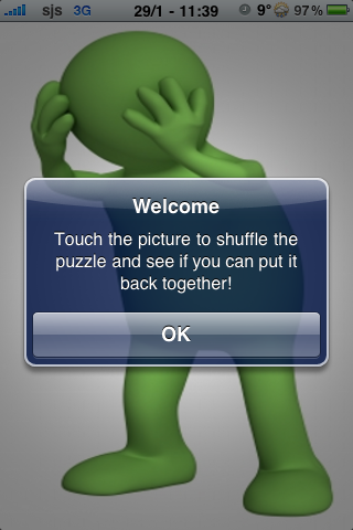 The Green Man Slide Puzzle screenshot #3