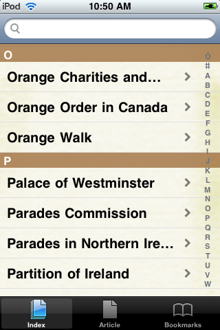 The Orange Order Study Guide screenshot #2