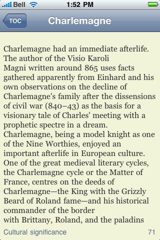 Charlemagne screenshot #2