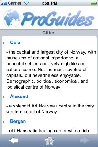 ProGuides - Norway screenshot #3