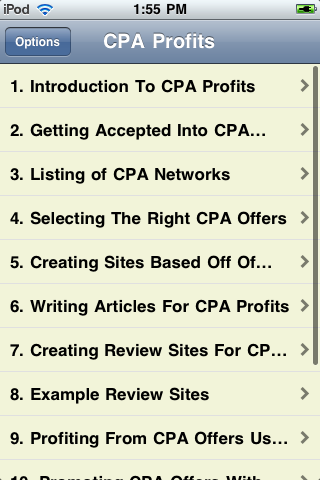 CPA Profits screenshot #2