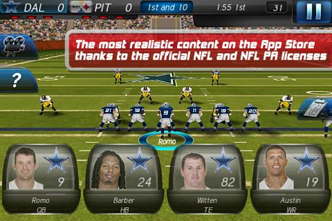 NFL 2011 FREE screenshot 3