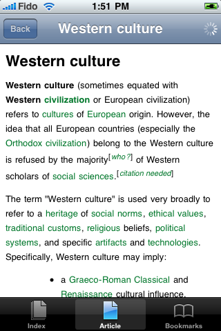 Western Culture Study Guide screenshot #1