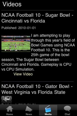 Georgetown College Football Fans screenshot #5