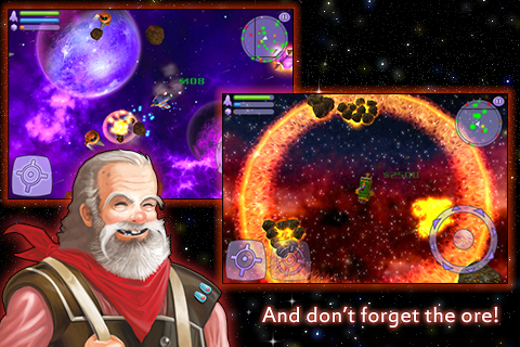 Space Miner: Space Ore Bust Lite screenshot #5