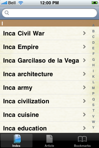 The Inca Study Guide screenshot #3