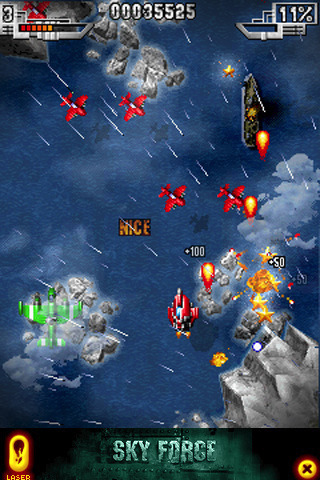 Sky Force LITE screenshot #2