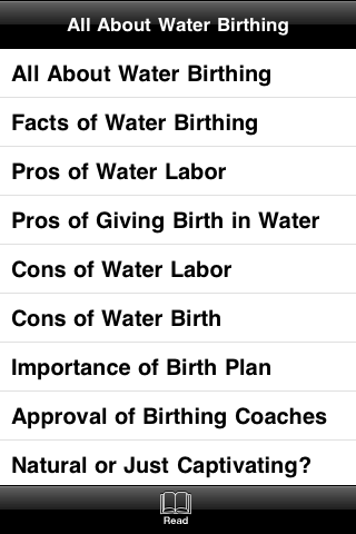 All About Water Birthing screenshot #2