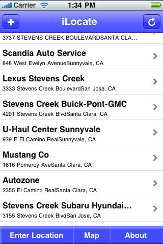 iLocate - Auto Detail screenshot #1