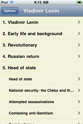 Vladimir Lenin - Just the Facts screenshot #1