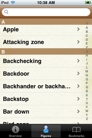 Hockey Pocket Book screenshot #2