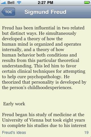 Sigmund Freud screenshot #3