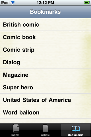 Comic Books Study Guide screenshot #3