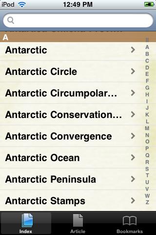 Antarctica Study Guide screenshot #2