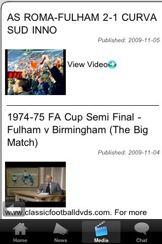 Football Fans - Chester City screenshot #3