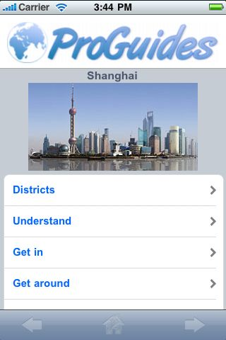 ProGuides - Shanghai screenshot #1