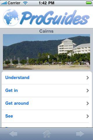 ProGuides - Cairns screenshot #1