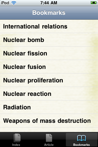 Nuclear Weapons Study Guide screenshot #3