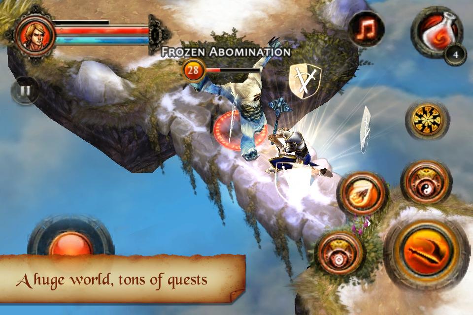 Dungeon Hunter 2 FREE screenshot #5