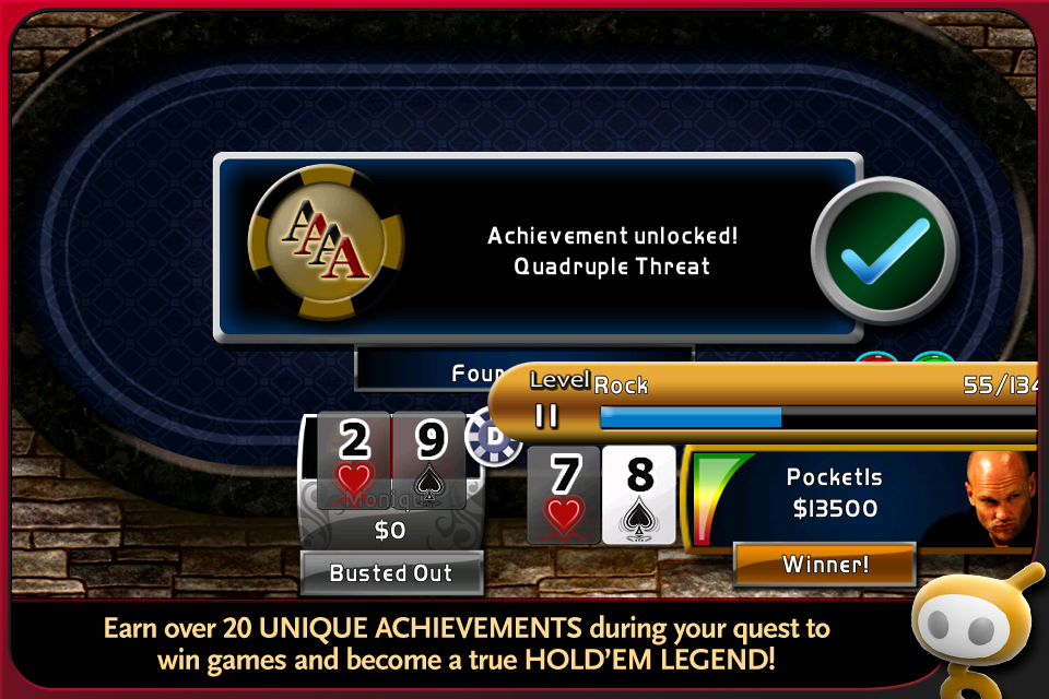 World Series of Poker Hold'em Legend Free screenshot #3