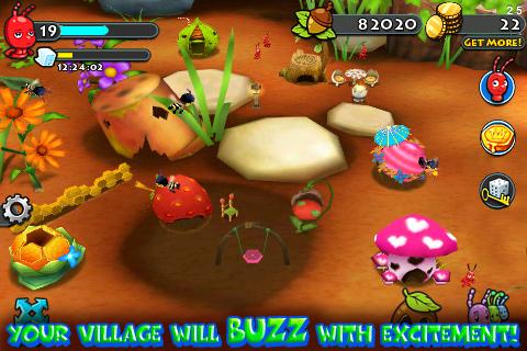 Bug Village Seasons screenshot #4