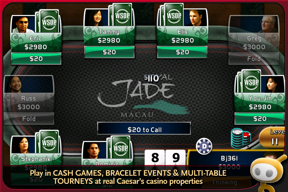 World Series of Poker Hold'em Legend Free screenshot #1