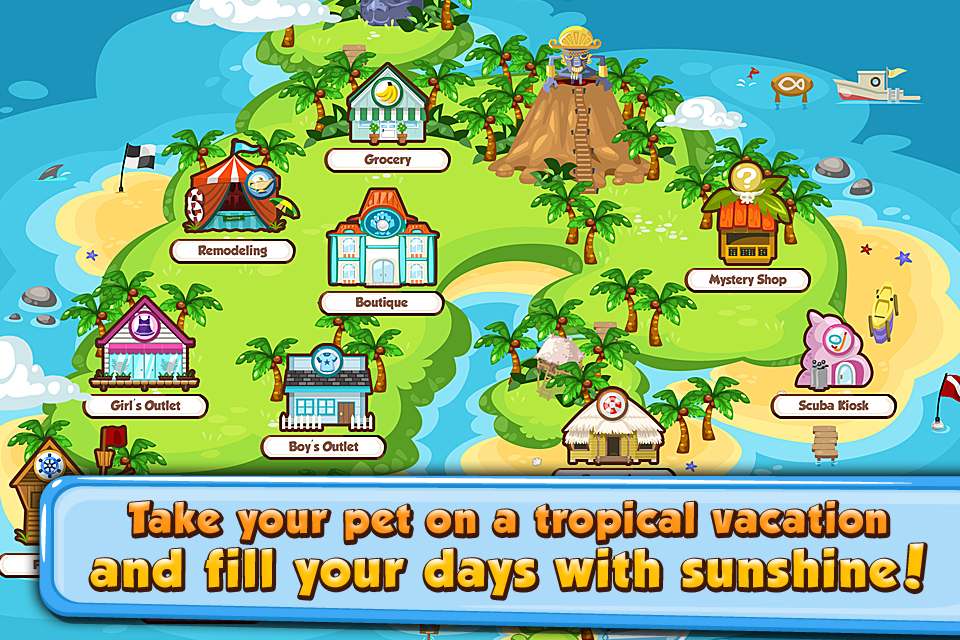 Pet Society Vacation screenshot 1