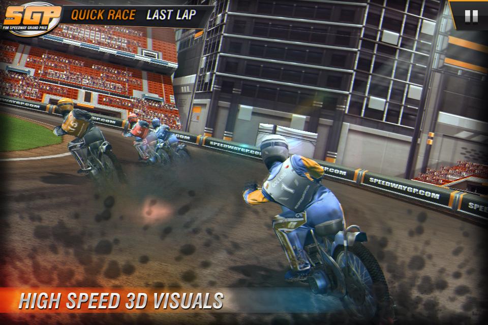 Speedway GP 2011 Lite screenshot #1