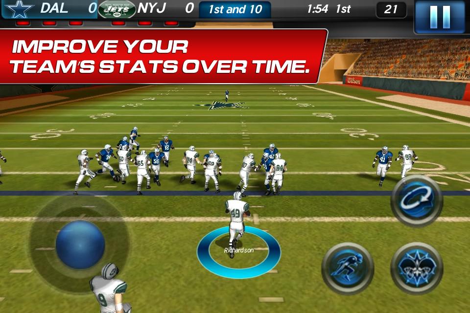 NFL Pro 2012 screenshot #5