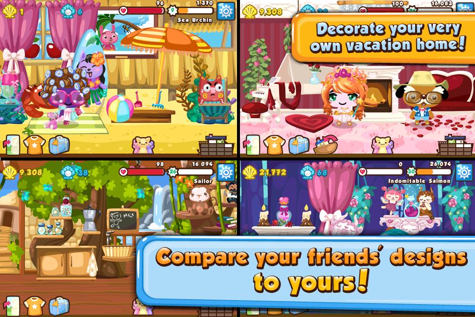 Pet Society Vacation screenshot 4